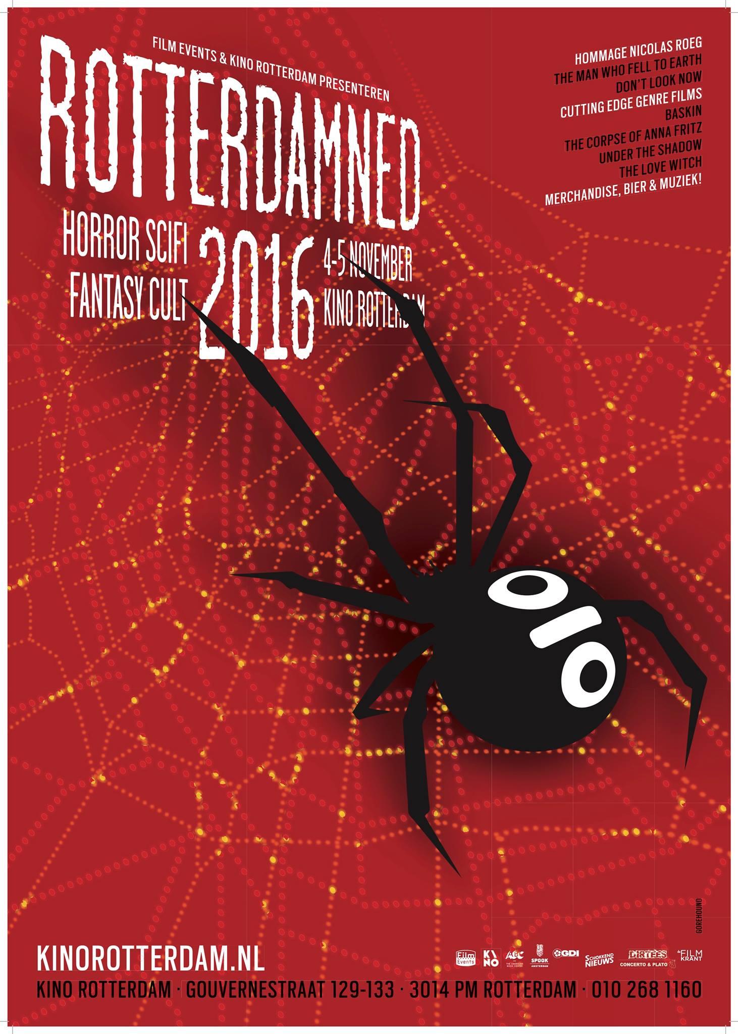 Rotterdamned 4 en 5 november 2016 kino rotterdam for Rotterdam film