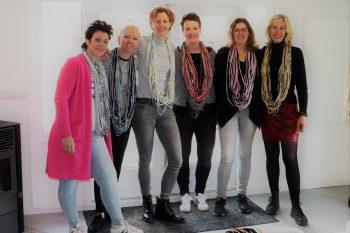 sjaal ibiza workshop - Loekie.nu