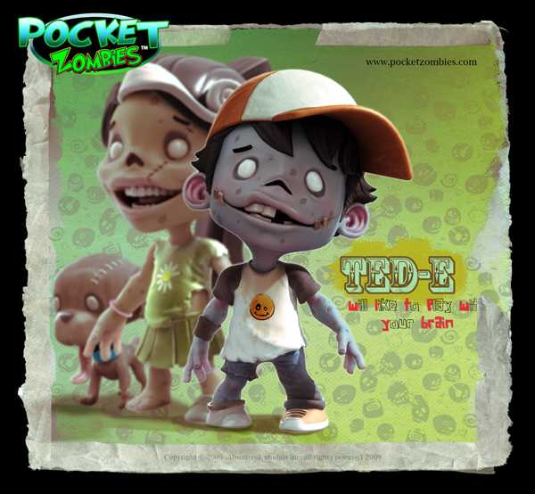 pocket zombies Ted-E