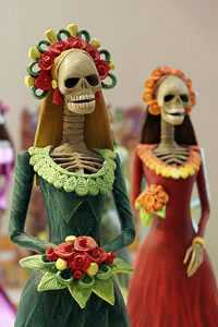 Catrinas - Aztecgodin Mictecacihuatl