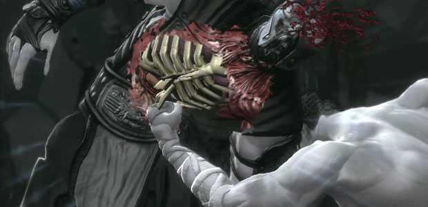 X-Ray aanval in Mortal Kombat 9