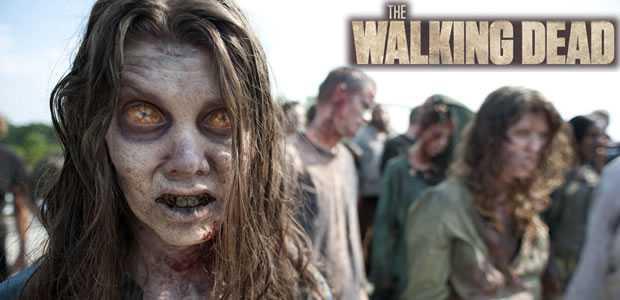 Een Walking Dead Seizoen 2 Zombie