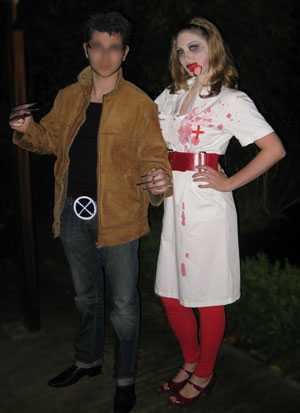 Nurse Death & Wolverine Halloween