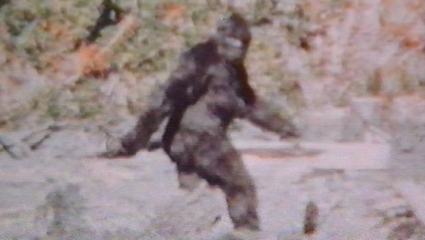 Een frame van de Patterson Gimlin film