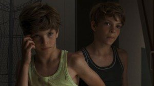 Elias en Lukas Schwarz in Ich seh Ich seh