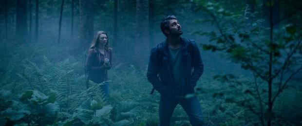 Natalie Dormer en Taylor Kinney in The Forest