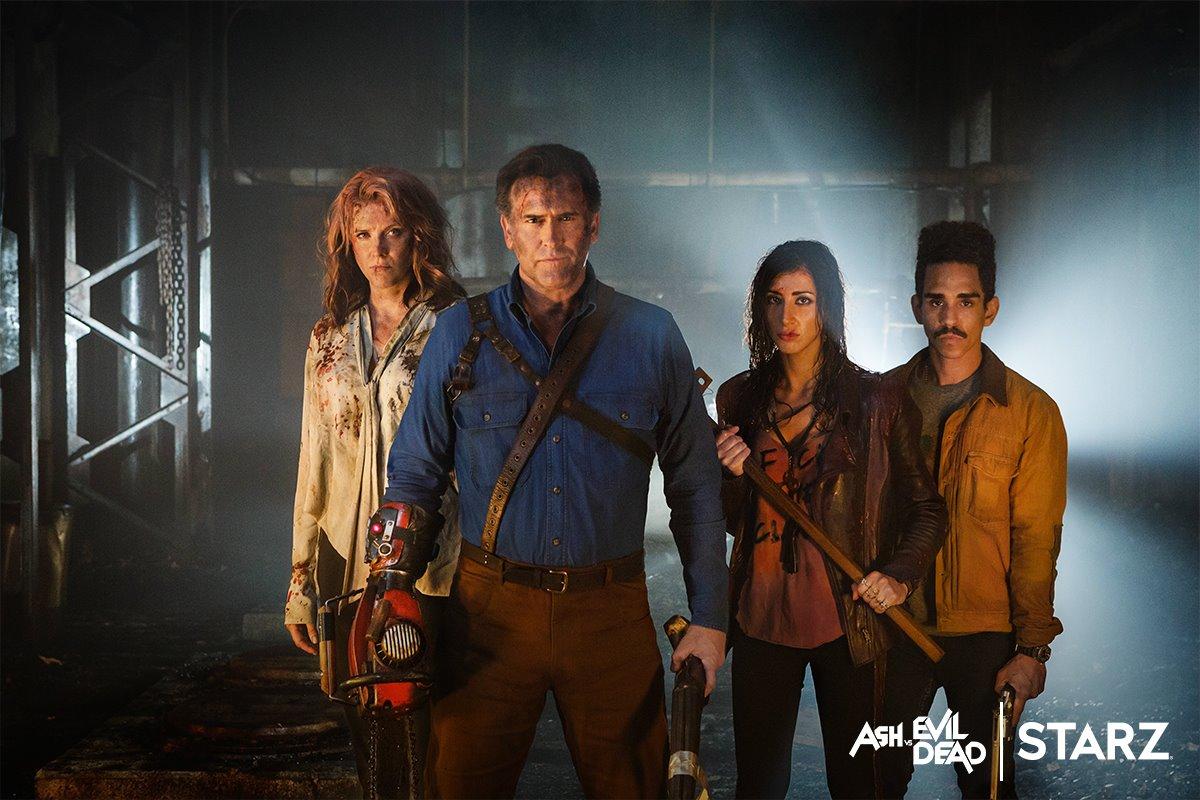 ash vs evil dead season 2 cast