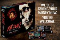 Deze week is er een Kickstarter gestart voor Evil Dead 2: The Official Board Game, en nu al is het doel van $70.000 met bijna $100.000 overtroffen!