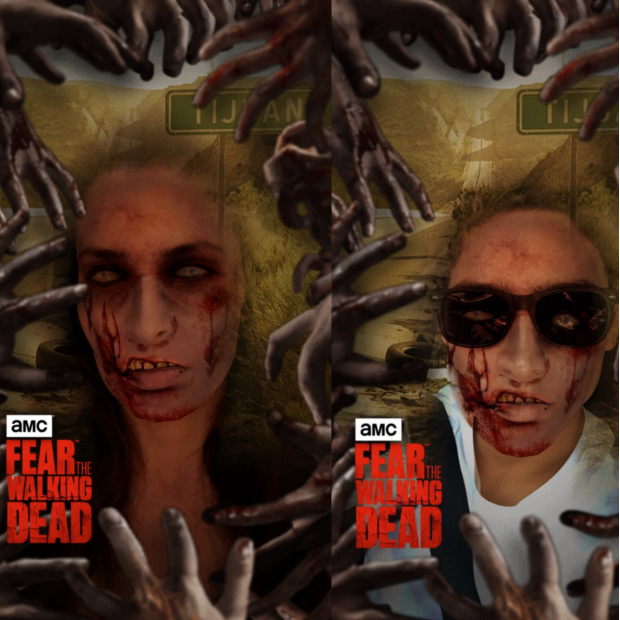Snapchat Fear the Walking Dead