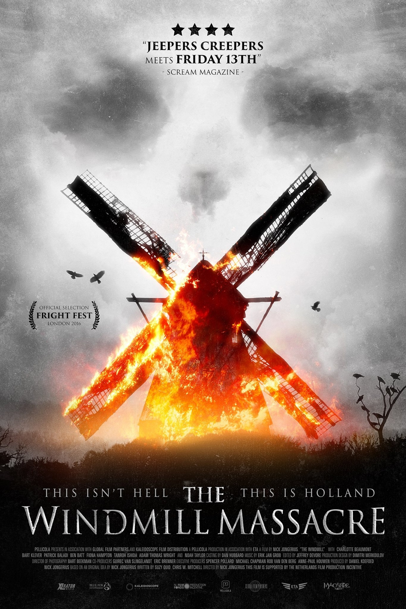Nieuwe poster The Windmill Massacre