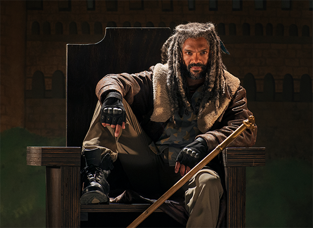 Ezekiel (Khary Payton) The Walking Dead seizoen 7