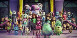 De leerlingen van Monster High