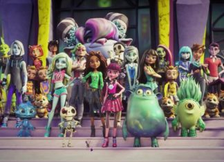 De leerlingen van Monster High