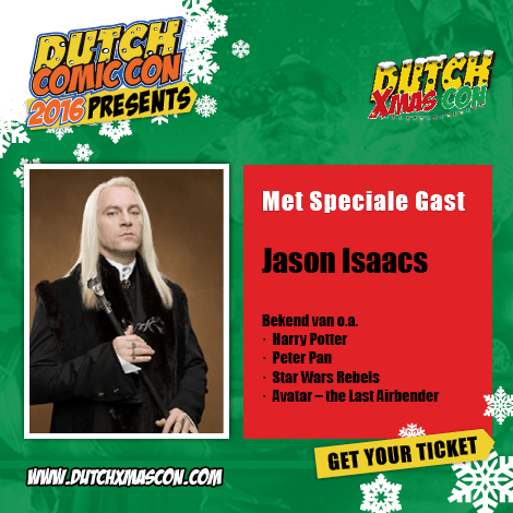 jason isaacs dutch xmas con 2016