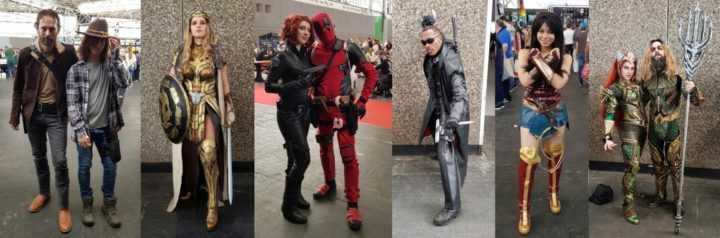 Geweldige cosplay tijdens de Comic Con
