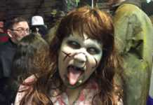 Haunted Hall scare actor